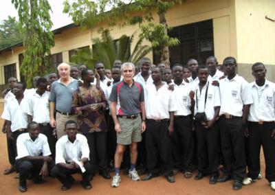 Gruppe in Afrika