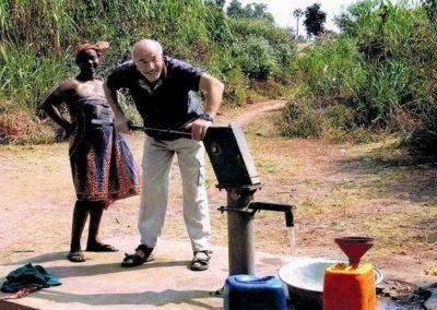 Neuer Brunnen in Ghana